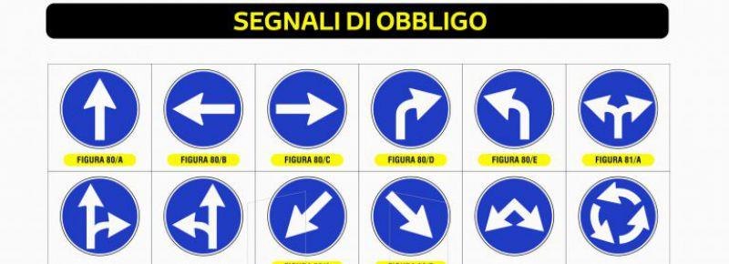 Segnali Di Obbligo Eurosignal Srl